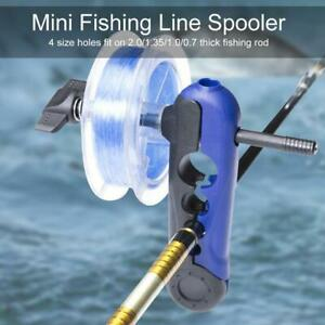 Portable Mini Fishing Line Winder Reel Spooler Machine Spooling Station System
