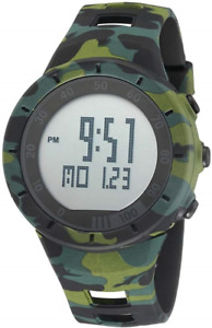 Camouflage Cool Outdoor Sport Children's Watch Led Light Comfortable Rubber Band