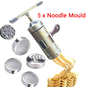 Pasta Noodle Maker Fruit Juicer Press Spaghetti Kitchen Machine Stainless Steel