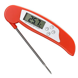 Digital Instant Read Meat Thermometer BBQ Cooking Measure Probe Kitchen Tool