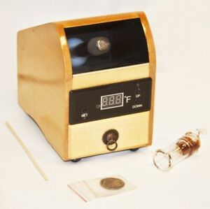 Aromatherapy Digital With Temperature Set wooden Frame With Drawer $49.00