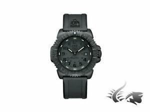 Luminox Sea Navy Seal Colormark Quartz Watch - Black - SiliconeRubber strap