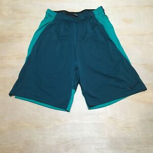Nike Dri Fit Running Athletic Shorts Turquoise Blue Small $16.00
