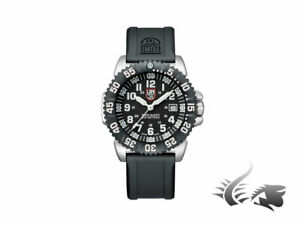 Luminox Navy Seal Steel Colormark Quartz Watch - BlackWhite