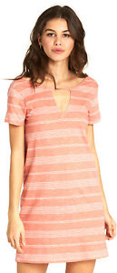 Billabong Move Fast Dress Sunburnt Womens Sz L