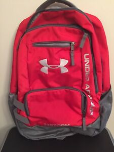 Under Armour Unisex Storm Hustle 1 Backpack Red