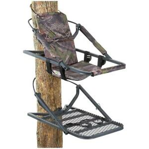 Guide Gear Extreme Deluxe Climber Tree Padded Armrest Hunting Stand Adjustable