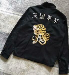 WACKO MARIA PARADISE TOKYO Sukajan Souvenir Jacket Tiger for MEN from JAPAN F/S
