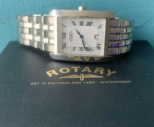 Mens Rotary Classic Watch CGB00005/21 With Box Instructions And Warranty Card