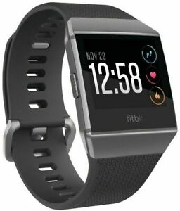 Fitbit Ionic Charcoal - Pebble Device ONLY no strap no charger NEW READY TO USE