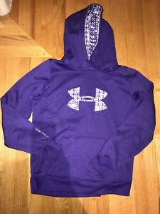Under Armour Storm Women Large Purple Hoodie