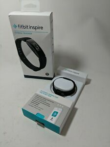 Fitbit Inspire - Never Used - Fitness Tracker Black Small & Large Bands