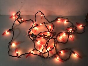 Red Chili Pepper Light String 35 count