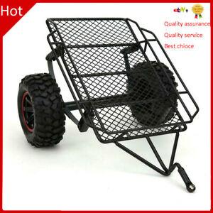 Metal Small Trailer for Traxxas TR X4 Axial SCX10 RC 4WD D90 1 10 RC Car S