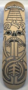 Element Skateboard Deck Laser Sample *Original Artwork?* Hand Painted Man Cave