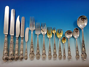 Renaissance by Tiffany & Co Sterling Silver Flatware Set for 12 Service 209 pcs