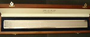 Presidents Rule sterling silver ruler by Richard Jarvis of Pall Mall $689.99