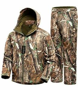 NEW VIEW Hunting Jacket Waterproof Hunting Camouflage Hoodie for MenHunting Sui