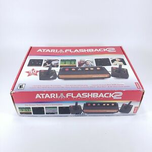 Atari Flashback 2 Launch Edition Black Plug&Play TV Game - Complete in Box