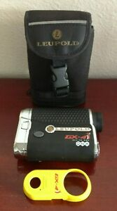 LEUPOLD GX 4i2 DNA ALL-IN-ONE LASER APERTURE RANGEFINDER. SLOPE. GREAT CONDITION