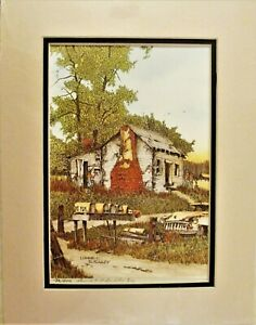 Signed & Numbered Lonnie C. Blackley Lithograph 132200 New in Shrink Wrap