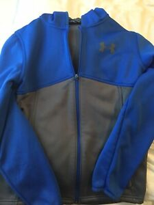 Under Armour Storm Hoodie Blue Youth Large Hoodie Boys EUC