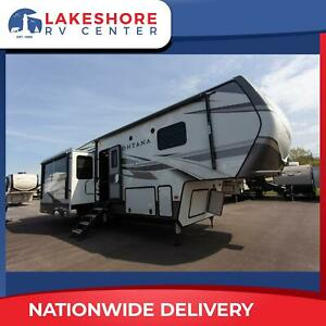 Keystone Montana 3121RL Rear Living Fifth Wheel RV Triple Slide - Reduced Price