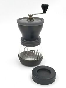 Manual Coffee Mill Hand Beans Nuts Adjustable Conical Ceramic Burr Spice