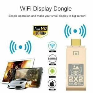 Wireless Wifi to HDMI TV Display Receiver Dongle Adapter for iPhone iOS Android