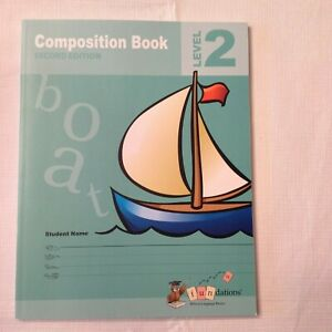 Fundations Student Composition Book 2 Second Edition by Barbara Wilson (2012, Pa