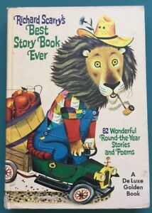 Richard Scarrys Best Story Book Ever 1970 Edition Hard Cover Good Condition