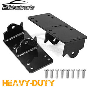 For Chevy GMC 73 98 4.8L 5.7L Clam Shell LS Engine Swap Conversion Mount Plates $43.35