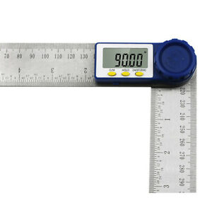 1x Digital Angle Finder Ruler LCD Protractor 200mm Stainless Steel Angle Gauge C $22.82