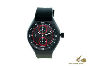 Porsche Design Monobloc Actuator Automatic Watch - Black SiliconeRubber strap