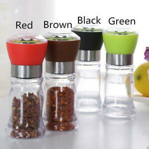 Durable Manual Hand Twist Pepper Mill Spice Salt Grinder Kitchen Grinding Tool