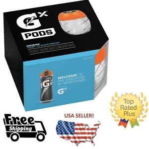 Gatorade GX Pods -Glacier Freeze Blue 4 Pack NO BOTTLE •SOLD OUT EVERYWHERE! NEW