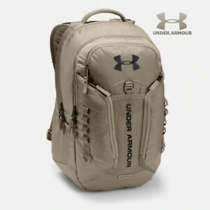 Hot Under Armour Backpack Contender Storm UA New Bookbag City Khaki 299 Bag