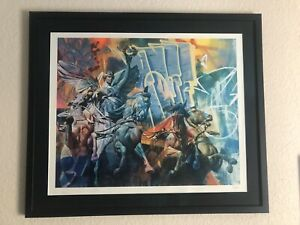 Pichiavo Orphicalhymn 1 To Nike Hand Finished AP Street Art Fine Art Lithograph