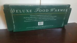 Deluxe Food Warmer Antique Never Used Camping Outdoor Cooking
