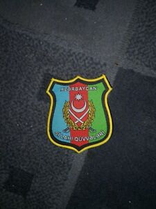 Azerbaijan Armed Forces Post Soviet Bloc Military army Central Asia Morale Patch $6.99