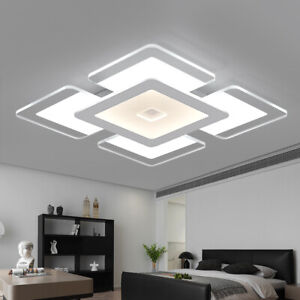 Modern LED Ceiling Down Light Ultra Thin Flush Mount Kitchen Lamp Home Fixture