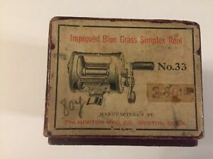 Vintage Horton Simplex 33 Takapart Casting Reel In Box With Bag . Stunning Combo