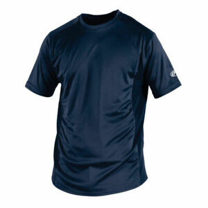Box 47 Pieces of Navy Adult Youth Rawlings SSBASE Dri Fit T Shirts $235.00