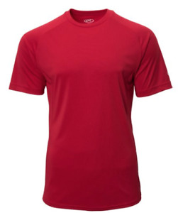 Box 60 Pieces of Scarlet Rawlings SSBASE Dri Fit T Shirt Adult $270.00
