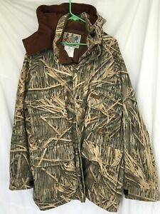 VTG Herter's Men's XL Jacket Coat Camouflage Shadowgrass Green Gold