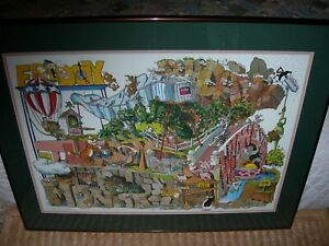 Robert Marble  Signed Numbered Lithograph 1992 182950  Weekly Daze
