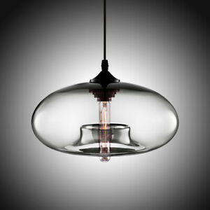 Modern Glass Pendant Colored Hanging Ceiling Light Island Chandelier Lamp $32.40