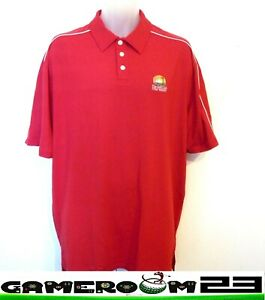 Under Armour Men's Golf Shirt Short Sleeve Size XLarge Red Nice Polyester + $10.99
