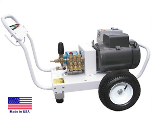 PRESSURE WASHER Commercial - Electric - Cold Water - 3000 PSI - 4 GPM - AR Pump