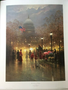 G. Harvey Lithograph The American Dream Signed and Numbered Authenticated $888.00
